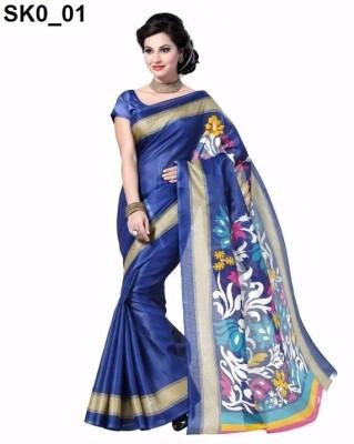 svb sarees Polka Print Assam Silk Cotton Linen Blend Sari