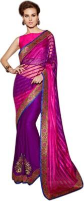 Vardhini Embriodered Fashion Satin Sari
