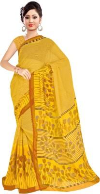 FabTexo Printed Fashion Chiffon Sari