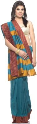 Aapno Rajasthan Checkered Fashion Art Silk Sari