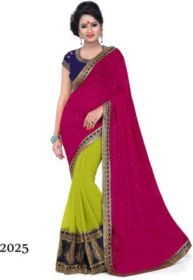 Disneysell Embriodered Bollywood Modal Sari