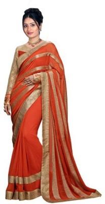 Regalia Ethnic Embriodered Fashion Georgette Sari