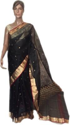 VanshikasCollections Woven Chanderi Chanderi Sari