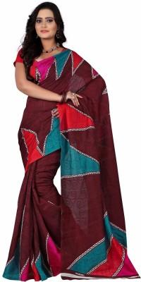 Arthenterprise Printed Fashion Jacquard Sari