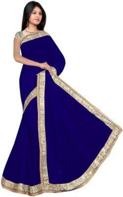 stylish sarees Plain Fashion Synthetic Sari