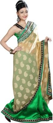 Shivam Fashions Self Design Fashion Georgette Sari