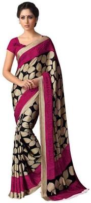 A G Lifestyle Printed Fashion Printed Silk Sari