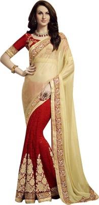 Shop Avenue Embriodered Fashion Lycra Sari