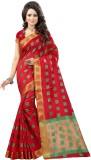 Fashionesta Self Design Fashion Silk Sar...
