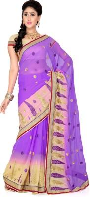 Deepika Saree Embriodered Bollywood Chiffon Sari
