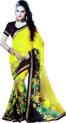 Madhavam Printed Bollywood Pure Georgette Sari