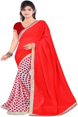 Sonakshi Sarees Self Design Fashion Georgette Sari