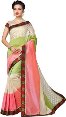 Navya Fashion Embriodered Fashion Art Silk Sari