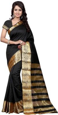 loot lo creation Woven Bandhani Art Silk Sari