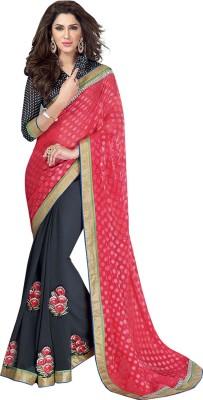 Khantil Embriodered Fashion Georgette Sari