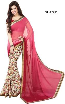 Sasural Floral Print Fashion Georgette Sari
