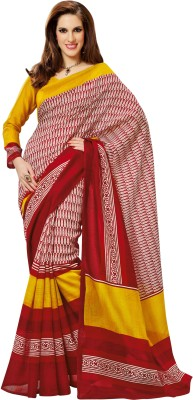 Prafful Printed Daily Wear Art Silk Sari