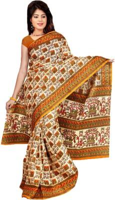NSMedia Self Design Bhagalpuri Silk Sari