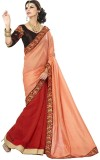 Zenny Creation Solid Fashion Georgette S...