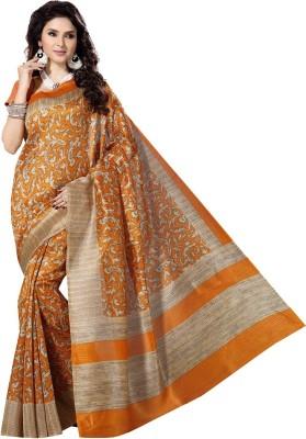 Rani Saahiba Printed Bhagalpuri Art Silk Sari