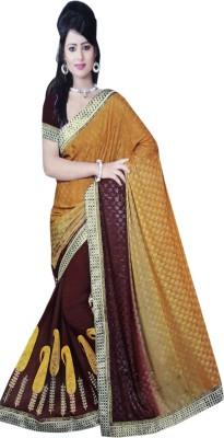 NEW LOOK DESINER Printed Fashion Synthetic Sari