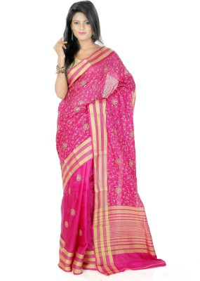 Shree Saree Kunj Solid, Self Design Bollywood Kota Cotton Sari