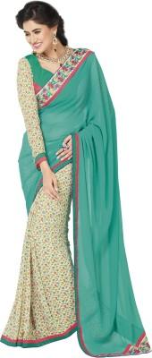 Lovelylook Printed Daily Wear Georgette Sari