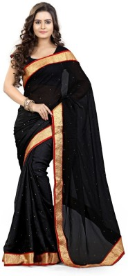 mGm Creation Self Design Daily Wear Georgette Sari
