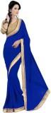 SRK Self Design Bollywood Chiffon Saree ...