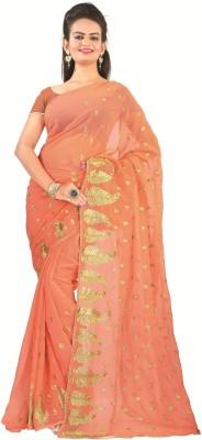 Atmiya Fashion Embriodered Fashion Georgette Sari