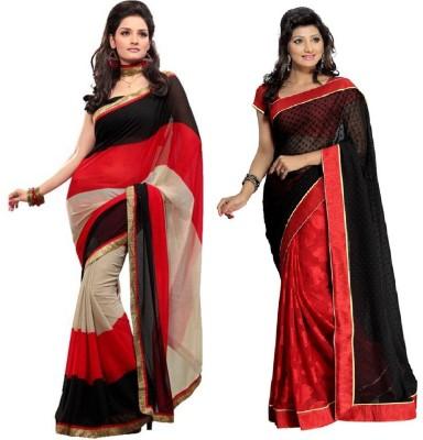 Anwesha Sarees Printed Fashion Georgette Sari