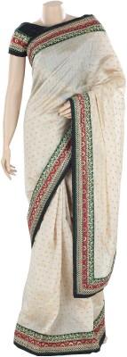 BEAUVILLE VAIIBAVAM Paisley Fashion Shimmer Fabric Sari