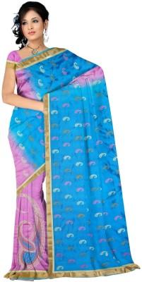 SSV Embriodered Banarasi Art Silk Sari