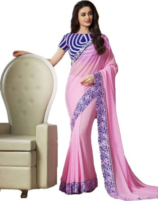 Rajeshwar Fashion Self Design Bollywood Pure Georgette Sari