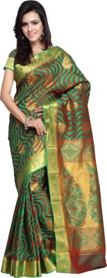 Thelibazz Embellished Fashion Pure Silk Sari
