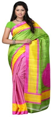 Supriya Fashion Self Design Bhagalpuri Silk Sari