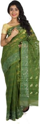 Aryika Woven Jamdani Handloom Cotton Sari