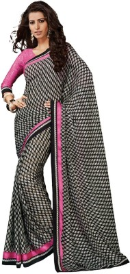 Subhash Sarees Printed Daily Wear Georgette Sari