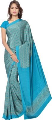 Ligalz Printed Daily Wear Crepe Sari