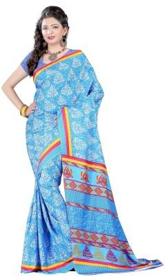 Pruthu Printed Fashion Crepe Sari