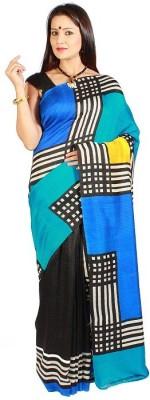 Slice of Bengal Printed Jamdani Silk Sari