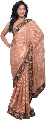 Kanchan Shree Self Design Bollywood Brasso Sari