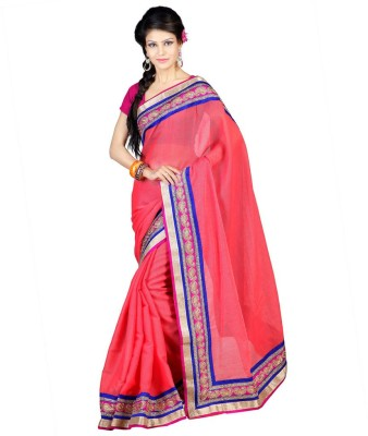 Chirag Sarees Embriodered Fashion Cotton Sari