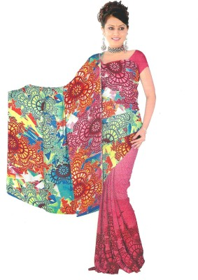 Archit Printed Daily Wear Satin Sari
