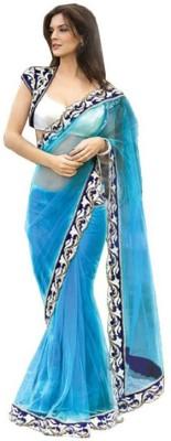 TrynGet Embriodered Fashion Net Sari