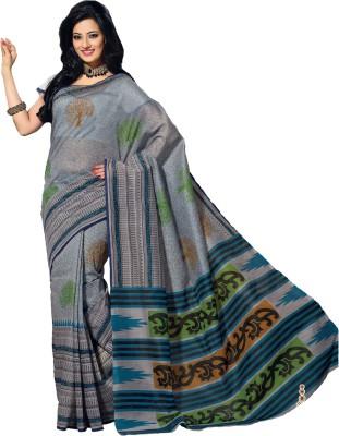 Mrsaree Printed Fashion Handloom Cotton Sari