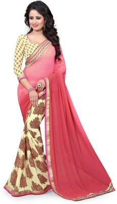 Lovit Printed Bollywood Georgette Sari