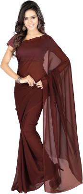 Muta Fashions Solid Daily Wear Tissue Silk Sari