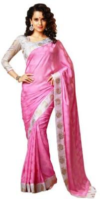 R V Collection Self Design Bollywood Art Silk Sari