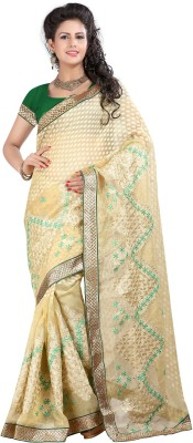 Ronaksilk Embriodered Bhagalpuri Net Sari